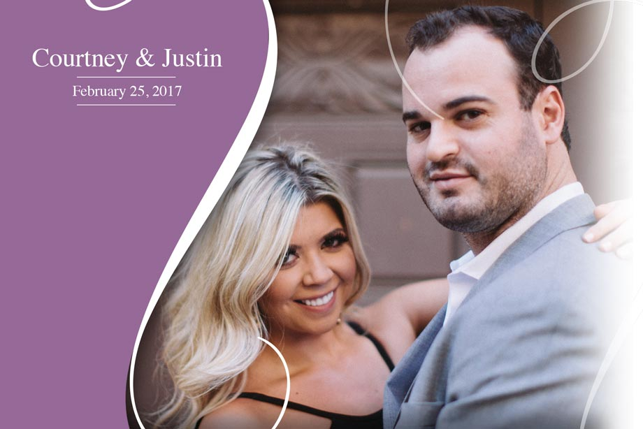 Nearlywed Courtney and Justin - February 25, 2017 Wedding