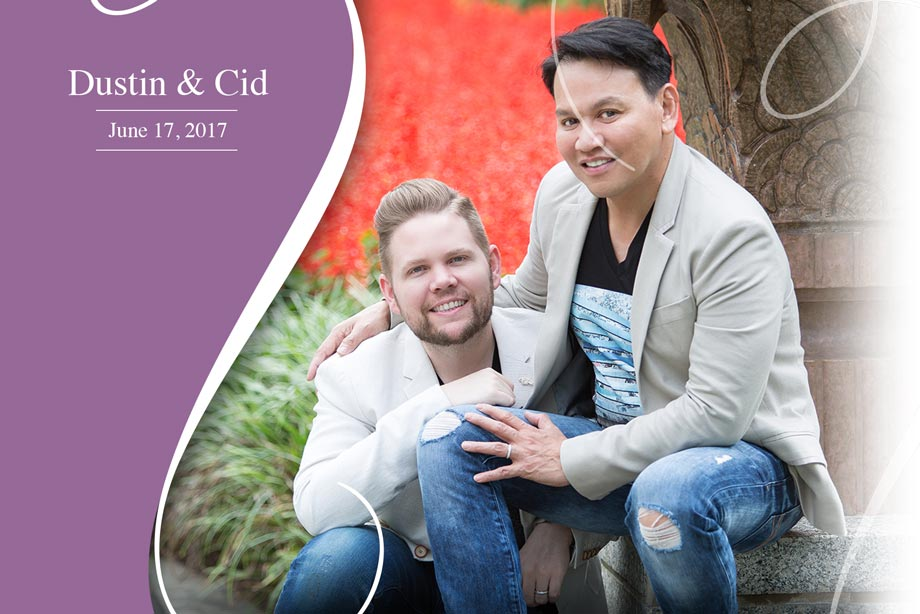 Nearlywed Dustin and Cid - June 17, 2017 Wedding