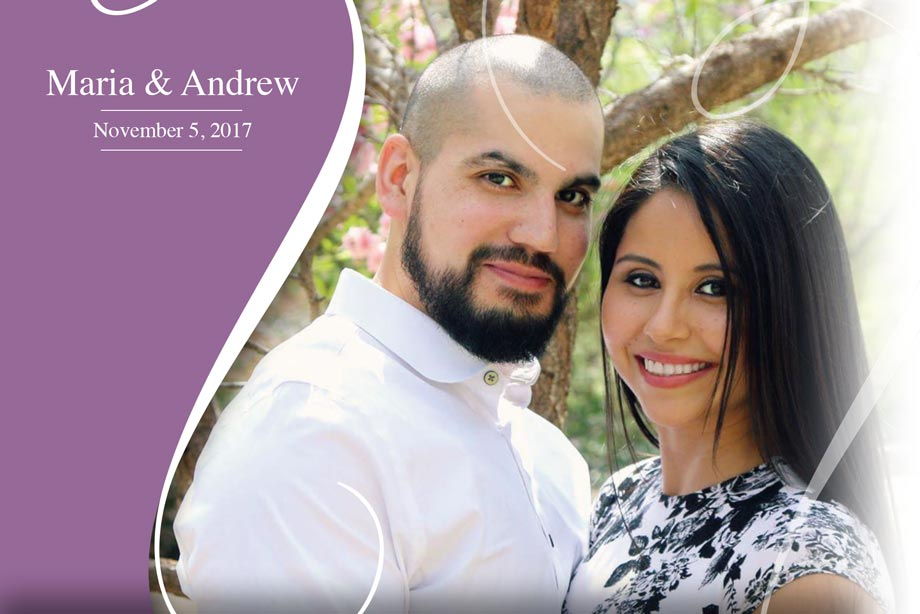 Nearlywed Maria and Andrew - November 7, 2017 Wedding