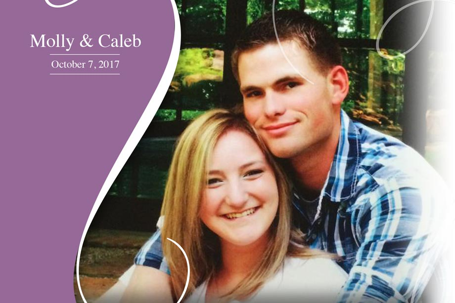 Nearlywed Molly and Caleb - October 7, 2017 Wedding