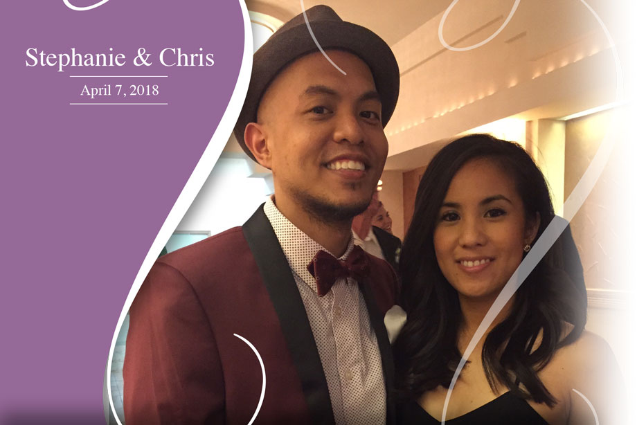 Nearlywed Stephanie and Chris - April 7, 2018 Wedding