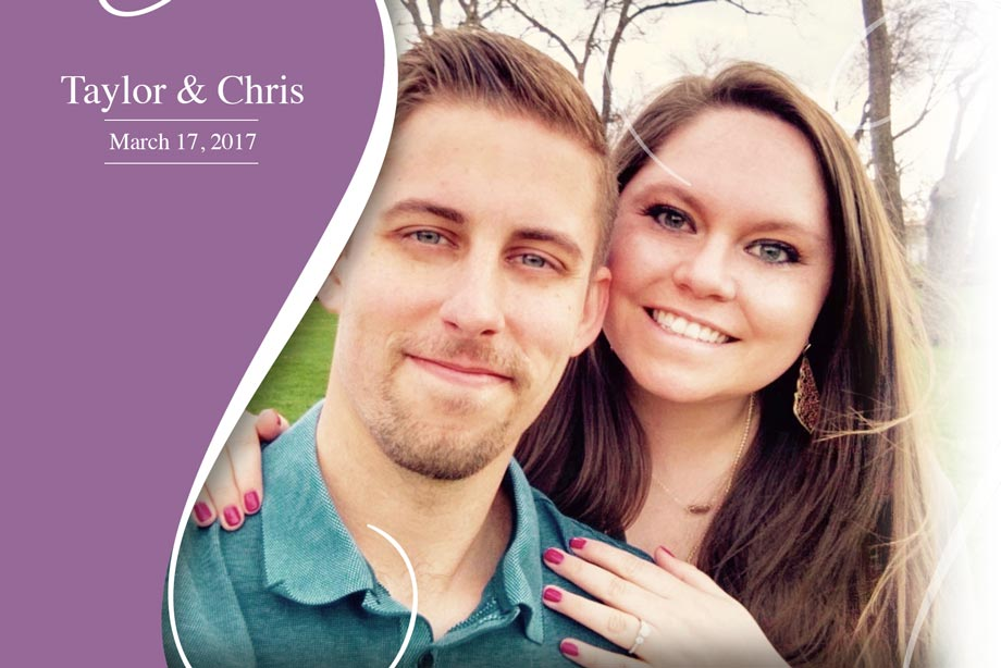 Nearlywed Taylor and Chris - March 17, 2017 Wedding