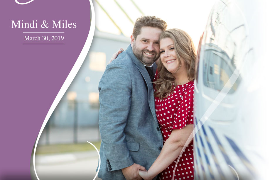 Nearlywed Mindi & Miles - March 30, 2019 Wedding ricardo tomas weddings event planner